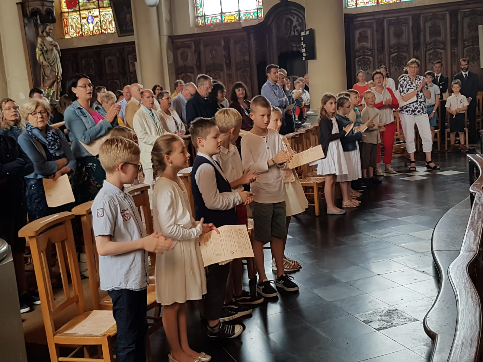 Communion 2019/ Chant d'entrée