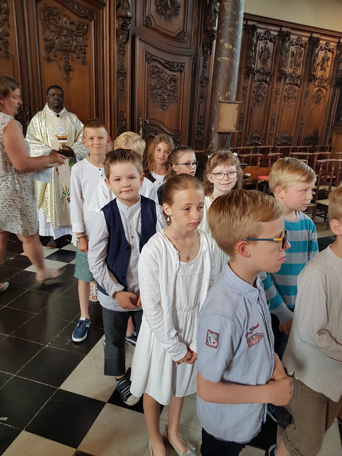 Communion 2019/ Procession d'entrée 3